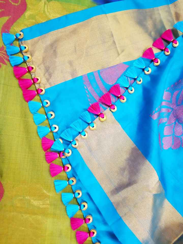 Saree Tassel - ShareChat