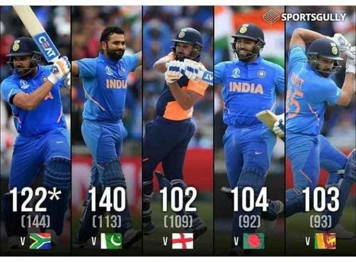 Semi-Final 🏆 IND 🇮🇳 vs NZ 🇳🇿 - SPORTSGULLY . IV INDU INDIA 122 * 140 102 104 103 ( 144 ) ( 113 ) ( 109 ) ( 92 ) ( 93 ) - ShareChat