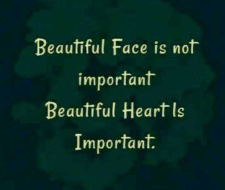 🎥 ShareChat Fast Forward Video - Beautiful Face is not important Beautiful Heart Is Important . - ShareChat
