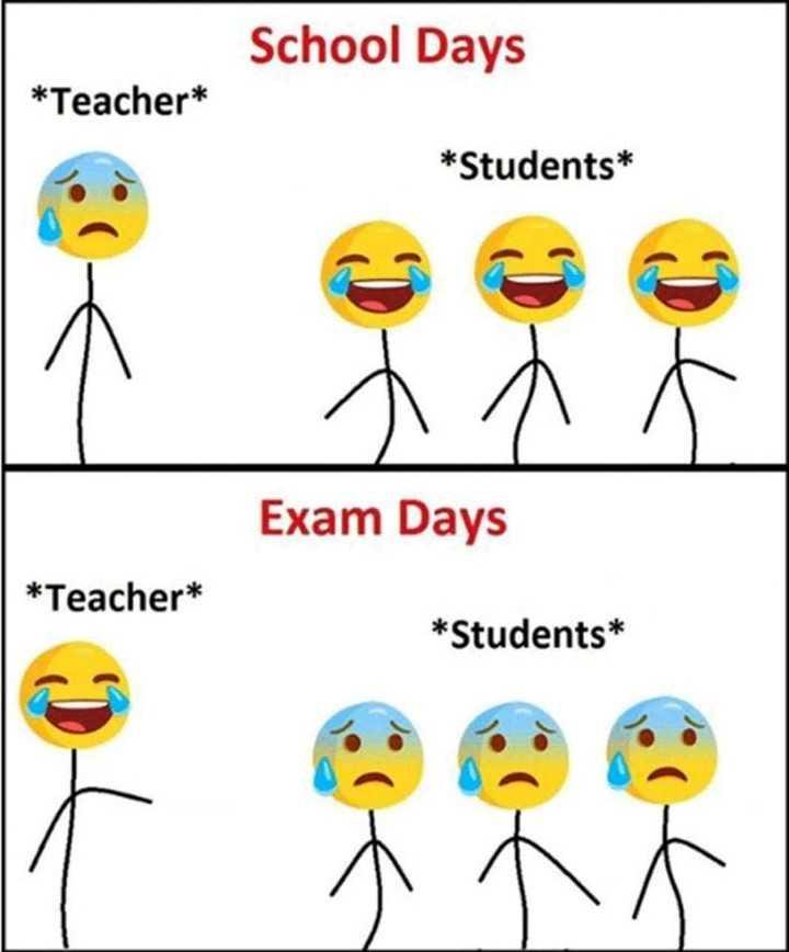Srikanth Yadav - School Days * Teacher * * Students * Exam Days * Teacher * * Students * ant - ShareChat
