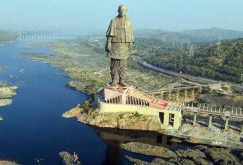 Statue of Unity - TII - ShareChat