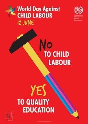 Stop child Labour - World Day Against CHILD LABOUR 12 JUNE NO TO CHILD LABOUR YES TO QUALITY EDUCATION - ShareChat