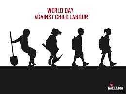 Stop child Labour - WORLD DAY AGAINST CHILD LABOUR Karkhus . - ShareChat
