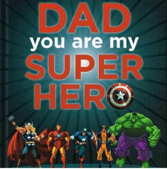 🤖 Super Hero Day - you are my DAD + SUPER HER - ShareChat