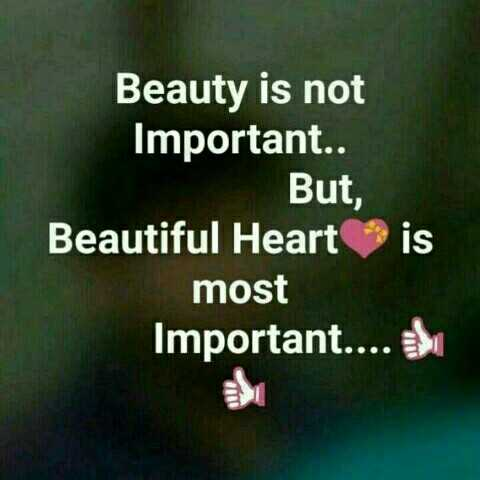 Thugs Of Hindostan - Beauty is not Important . . But , Beautiful Heart is most Important . . . . - ShareChat