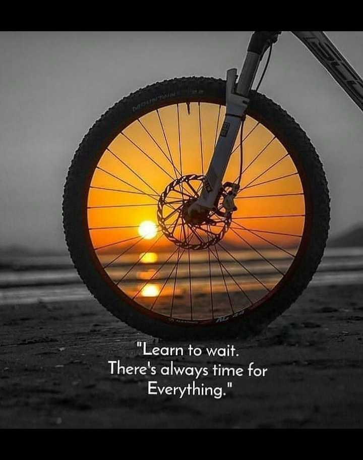 🌆 Typoഗ്രഫി - Learn to wait . There ' s always time for Everything . - ShareChat