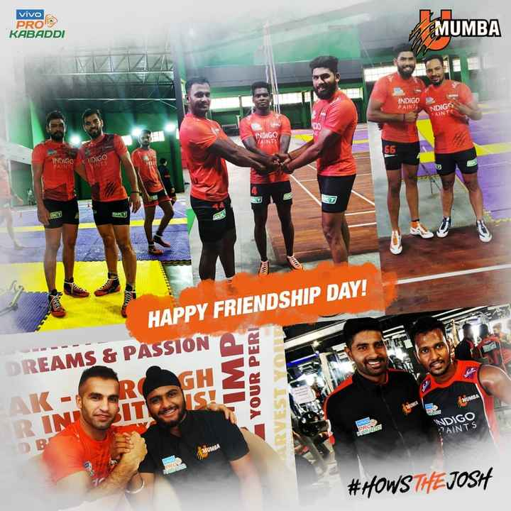 U Mumba - vivo PRO 9 KABADDI MUMBA INDIGO PAINT INDIGO PAINT INDIGO ZAINTE 66 NDIGO INDIGO PAIN 2 . WWW HAPPY FRIENDSHIP DAY ! DREAMS & PASSION MP YOUR PERI ARVEST YO MUMBA AK RINT VIVO PRO INDIGO PAINTS PARROOT MUMBA # HOWS THE JOSH - ShareChat