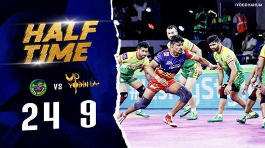 UP Yoddha - WYODDHAHUM HALF TIME S vs Venta 24 9 - ShareChat