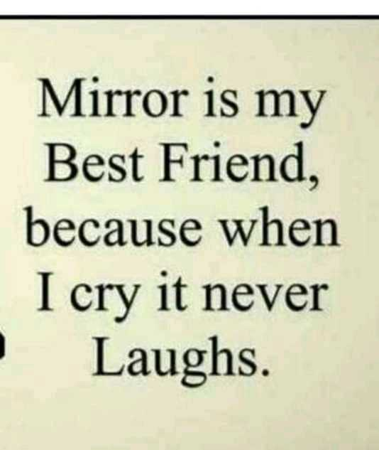 🎤 Voice Change Challenge💪 - Mirror is my Best Friend , because when I cry it never Laughs . - ShareChat