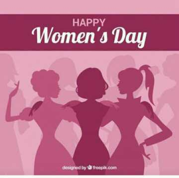 WOMEN'S DAY - HAPPY Women ' s Day designed by freepik . com - ShareChat