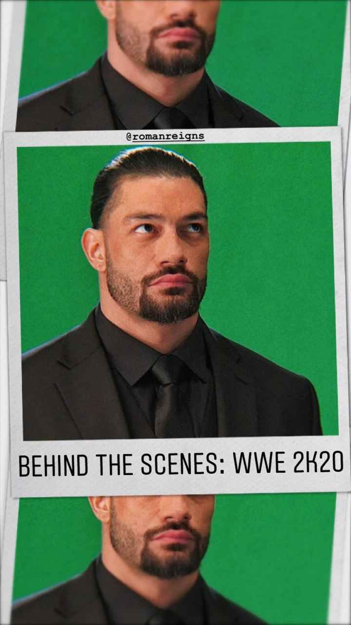 👊 WWE 👊 - @ romanreigns BEHIND THE SCENES : WWE 2K20 - ShareChat