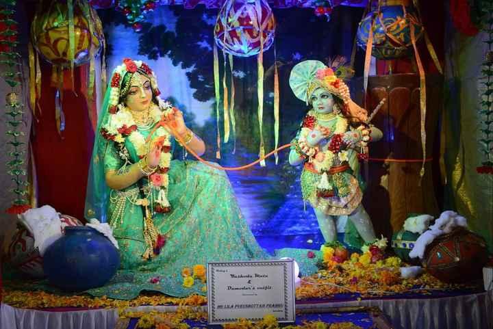 🌄 Wallpaper - ஏவி Yaskoda Mata Damodar ' s outfit நppppppppy S HG LILA PURUSHOTTAM PRABHUS 555555 - ShareChat