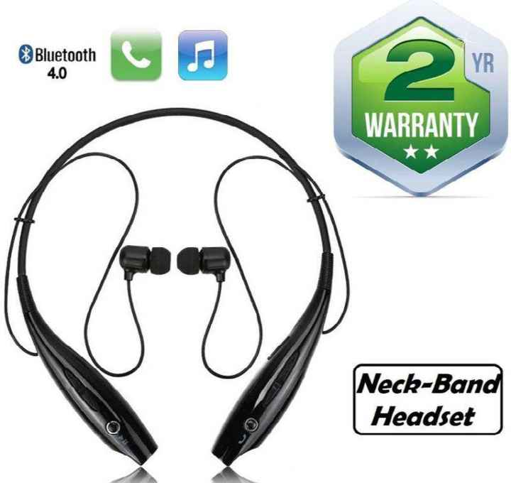 🤳Whatsapp DP - Bluetooth 4 . 0 WARRANTY Neck - Band Headset - ShareChat