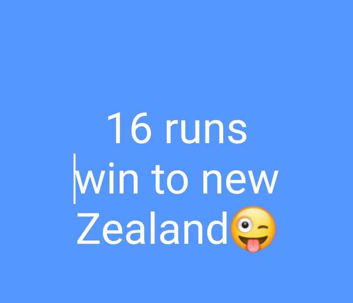 🔴World Cup Final Live - 16 runs win to new Zealand - ShareChat