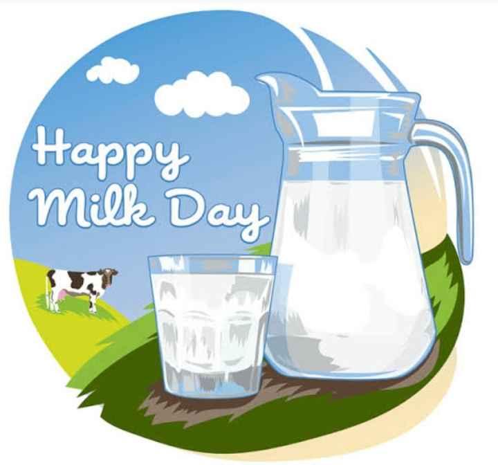 🥛World milk day🍼 - Happy Millz Day - ShareChat