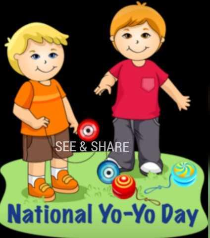 YO YO Day - SEE & SHARE National Yo - Yo Day ) - ShareChat