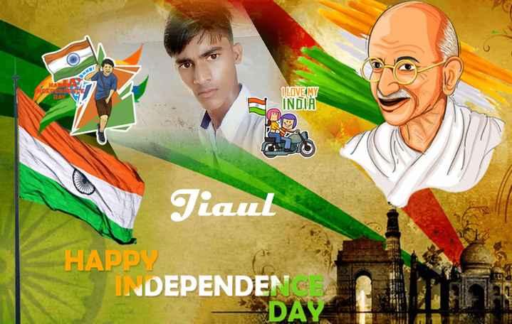 Yash Dasgupta  🎬 - DEDEN BA ILOVEMY INDIA Tiaul HAPPY INDEPENDEN DAY - ShareChat