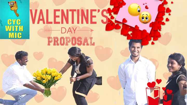 YouTube - VALENTINE ' S CYC WITH MIC DAY PROPOSAL - ShareChat