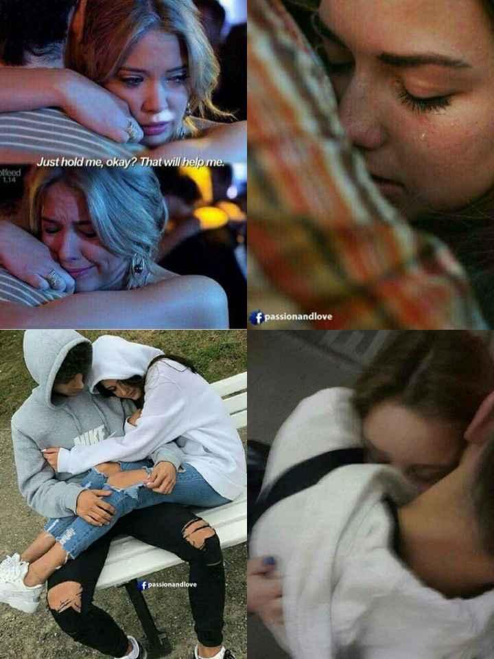 😍 - Just hold me , okay ? That will help me . Slegd f passionandlove f passionandlove - ShareChat