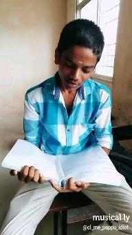 😂 காமெடி கலாட்டா - musical . ly @ cl _ me _ pappu _ idiot musically @ cl _ me _ pappu _ idiot - ShareChat