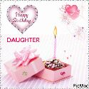 happy daughters day💐💐 - tappy Birthday DAUGHTER PicMix - ShareChat