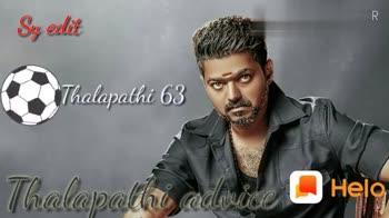 🎥வெறித்தனம்-பிகில் - Sy eelit Thalapathi 63 Thalapathi admide : Share Shayris , Quotes , WhatsApp Status HEIO Google Play - ShareChat