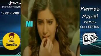 🏏மும்பையிடம் வீழ்ந்தது சென்னை - SUBSCRIBE Memes Machi MEMES COLLECTION CSK Fans Vetti Bandha @ karthibabybaby693 SUBSCRIBE Memes Machi MEMES COLLECTION Vetti Bandha @ karthibabybaby693 - ShareChat