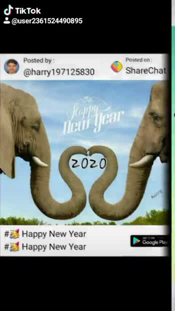 🥳️ Happy New Year - ShareChat