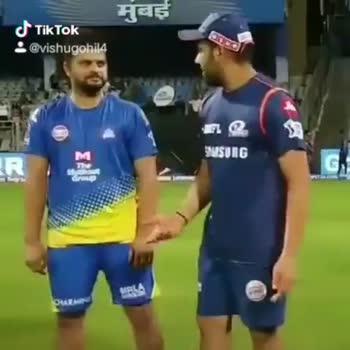 🔵 MI vs CSK 💛: 3 એપ્રિલ - : @ vishugoh 14 India Cements VIP Tiktok @ vishugohil4 - ShareChat