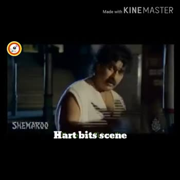 crazy star ravichandran - Made with KINEMASTER SHEMAROO Hart bits scene Made with KINEMASTER SHEMAROO Share and Subscribe - ShareChat