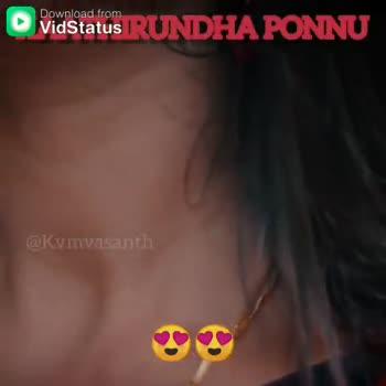 🎼🖋பாடல் வரிகள் - Download from RO Vidstatus RUNDHA PONNU WRmivasanth Download from Vidstatus IRUNDHAONNU Vent - ShareChat