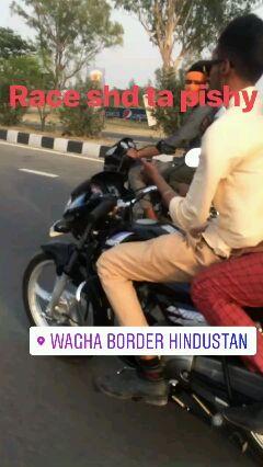 🚘  amritsar  ❤ - Race shd ta pishy WAGHA BORDER HINDUSTAN  - ShareChat
