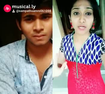 Musical.ly - M musical . ly : @ sampathsamro061098 musical ly @ sampathsamro061098 - ShareChat