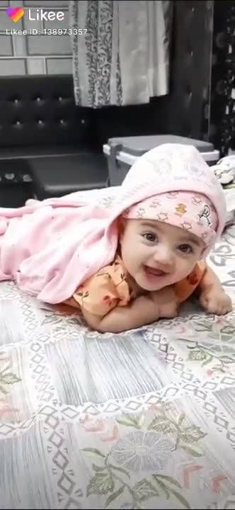 cute baby - Likee Likee ID - 138973357 Likee Formerly LIKE Video - ShareChat