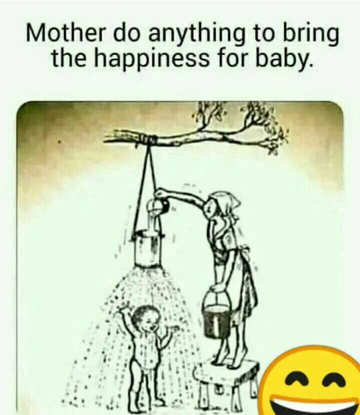 #aai 👑 - Mother do anything to bring the happiness for baby . We - ShareChat