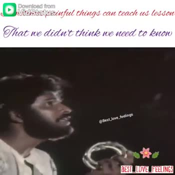 love failure songs - Download from Mdsitattusinful things can teach us lesson That we didn ' t think we need to know @ Best _ love _ feeling BEST LOVE FEELINGS Download from Vidstatusinful things can teach us lesson That we didn ' t think we need to know Best love feelings BEST LOVE FEELINGS - ShareChat