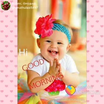 🌷 வாழ்த்து - போஸ்ட் செய்தவர் ; @ vinuthulasi57 OGood Morning ShareChat Vinuthulasi vinuthulasi5497 அன்புக்கு நான் அடிமை Follow - ShareChat