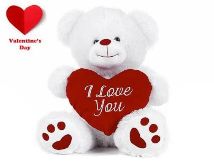 టెడ్డి - Valentine ' s Day 1 Love You - ShareChat