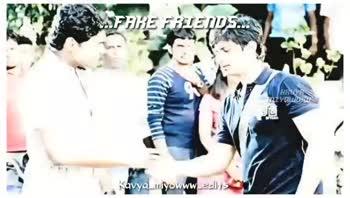 fake - FAKE FRIENDS . . . HAUVA MIYDILM Kavya _ miyowww _ edits . . . FAKE FRIENDS . . . BRUYA MIYDLLOW Kavya _ miyowww _ edits - ShareChat