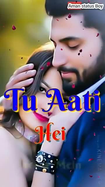 लिरिकल वीडियो गाने - Aman status Bav vmate ID : 63893880 Tere Made with KINEMASTER Amal Status Bay V vmate ID 63893880 KAUN TUJHE YUN PYAR KAREGA . - ShareChat