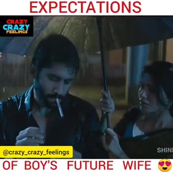ವಿಜಯ್ ದೇವರಕೊಂಡ ಹುಟ್ಟುಹಬ್ಬ - EXPECTATIONS CRAZY CRAZY FEELINGS @ crazy _ crazy _ feelings SHINE OF BOY ' S FUTURE WIFE REALITY CRAZY CRAZY FEELINGS GA @ crazy _ crazy _ feelings OF BOY ' S FUTURE WIFE O - ShareChat