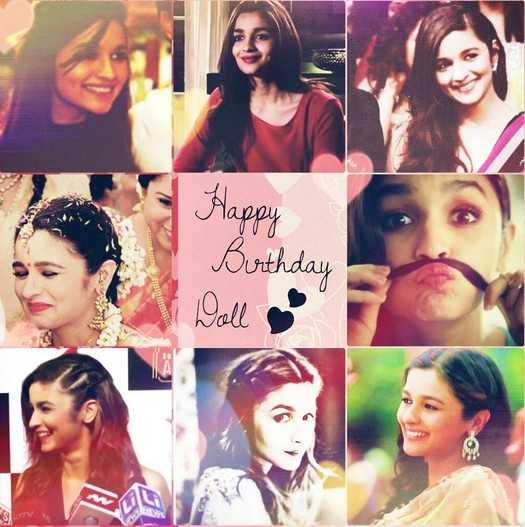 alia bhatt - Happy Birthday Woll - ShareChat