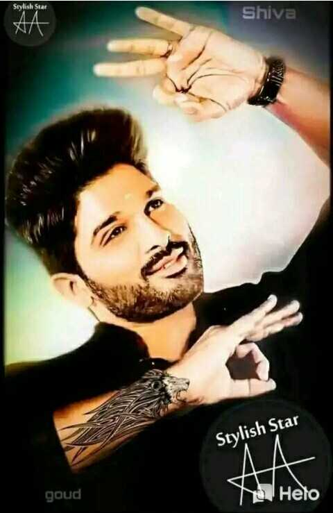 allu arjun - Stylish Star Shiva Nyt Stylish Star goud Yo Heto - ShareChat