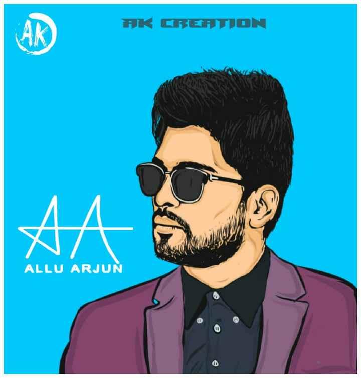 allu arjun hits - AK CREATION ALLU ARJUN - ShareChat