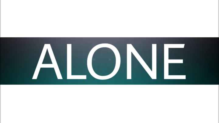 alone... - ALONE - ShareChat