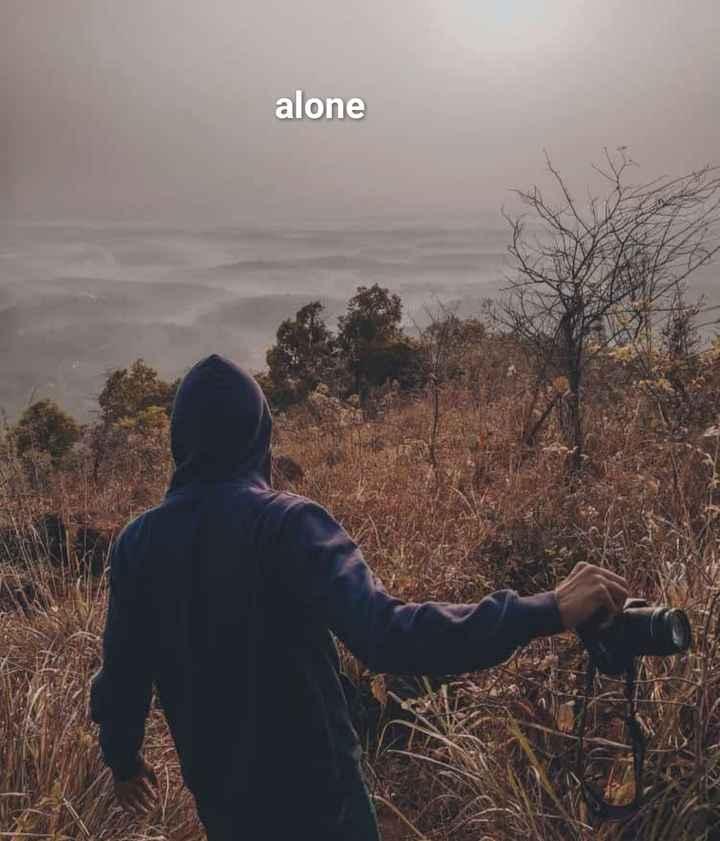 alone - alone - ShareChat