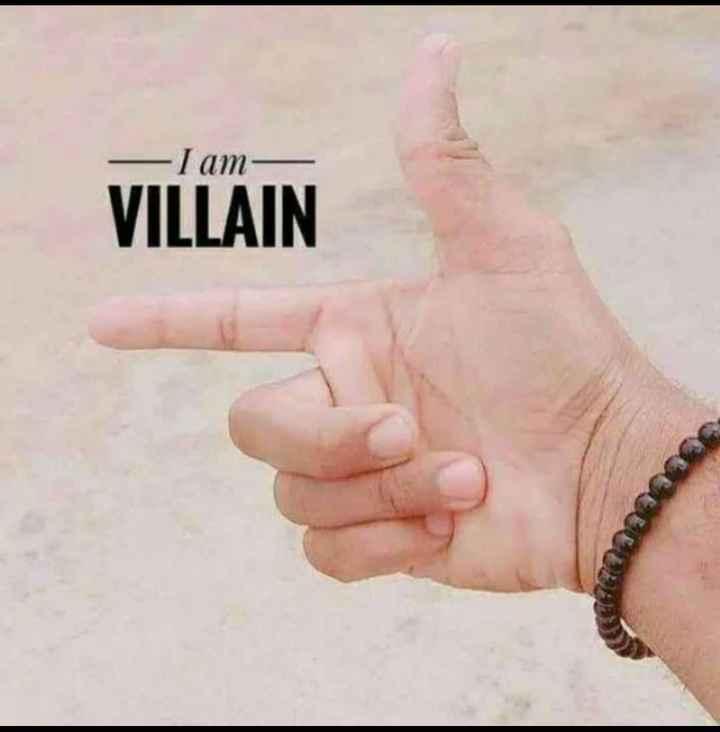 am  villain - I am VILLAIN - ShareChat