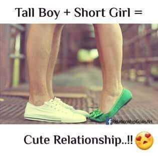 anbu - Tall Boy + Short Girl = Restplatt Cute Relationship . . ! ! - ShareChat