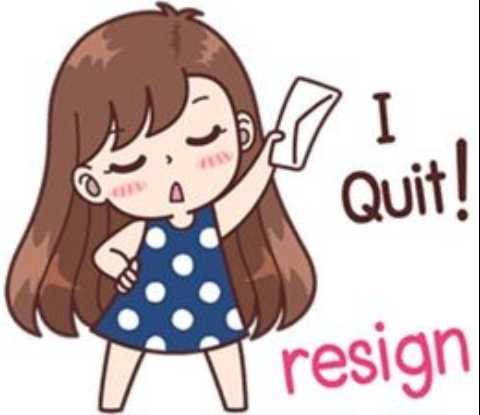 angry😈 - Quit ! IT II resign resign - ShareChat
