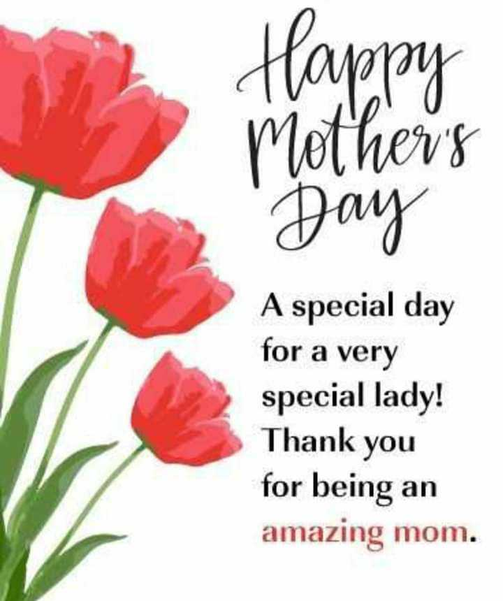 annaiyar dhinam - Happy Mother ' s Day Spec A special day for a very special lady ! Thank you for being an amazing mom . - ShareChat